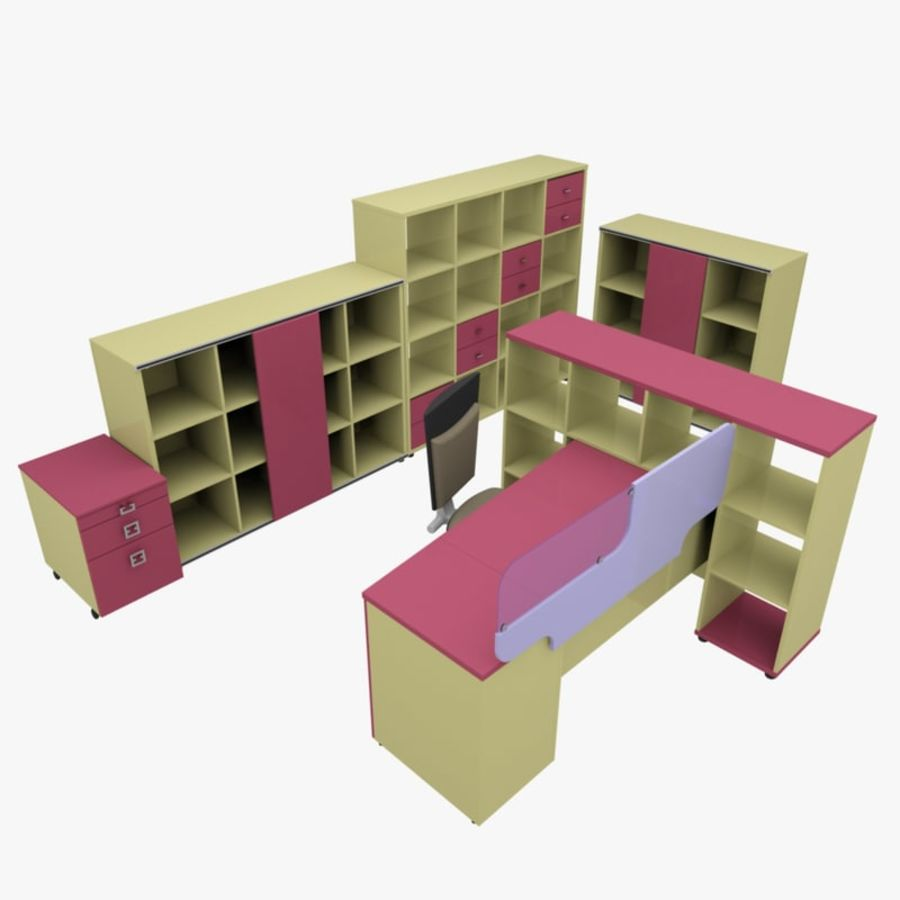 Office 88 royalty-free 3d model - Preview no. 16