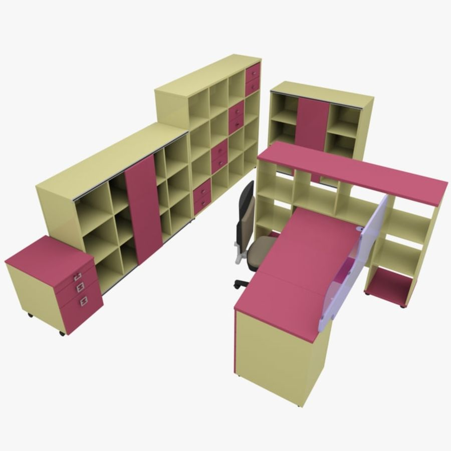 Office 88 royalty-free 3d model - Preview no. 1