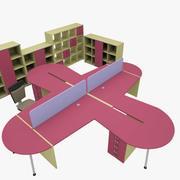 办公室101 3d model