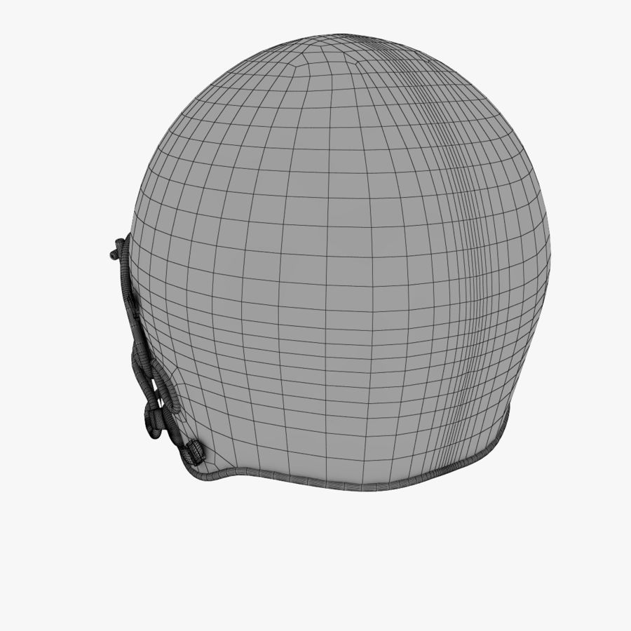 American Football Helmet royalty-free 3d model - Preview no. 12