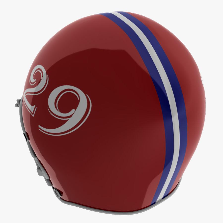 Американский футбольный шлем royalty-free 3d model - Preview no. 9