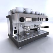 кофеварка 3d model