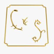 Ornements baroques 3d model