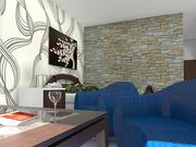 Appartement Chambre Simple 3d model