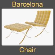 Barcelona Başkanı 3d model