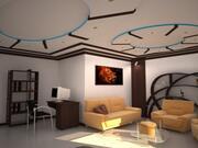 Drawing Room Interior 3d model