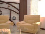 Drawing Room Interior 3d model