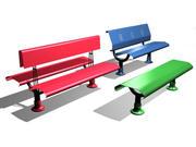 PCP public benches 3d model
