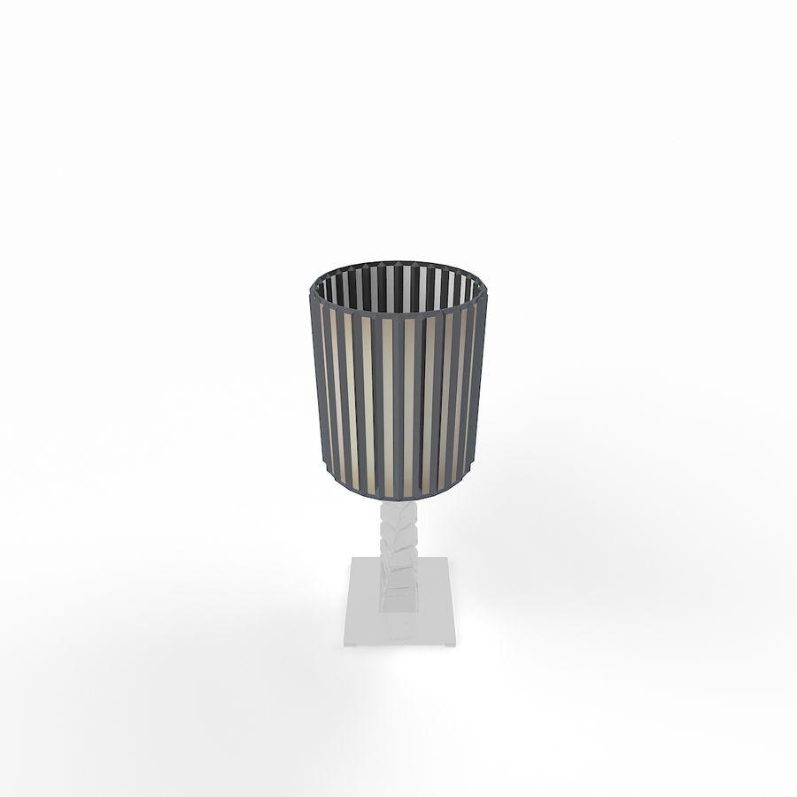 Modern Masa Lambası 141202`5D royalty-free 3d model - Preview no. 5