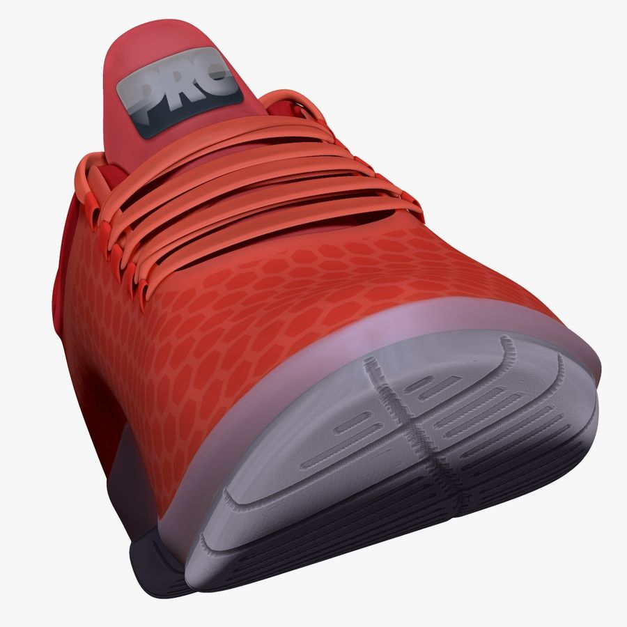 Turnschuhe Lachs royalty-free 3d model - Preview no. 5