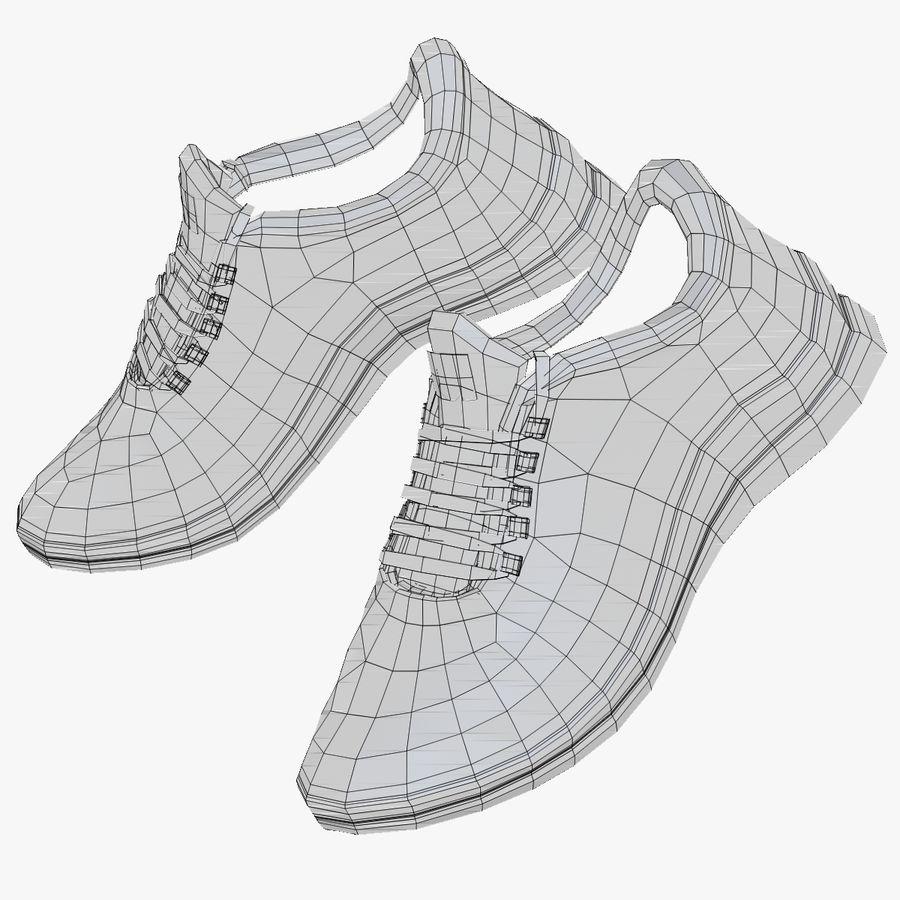 Spor ayakkabı kireç yeşil royalty-free 3d model - Preview no. 24