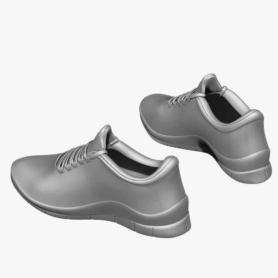 Spor ayakkabı kireç yeşil royalty-free 3d model - Preview no. 12