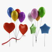 Ballongsamling 3d model