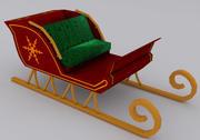 Christmas Sleigh 3d model