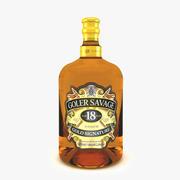 Flaska alkohol 3d model