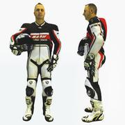 Référence Biker 3D 3d model