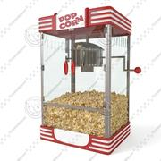 Big Popcorn machine 3d model
