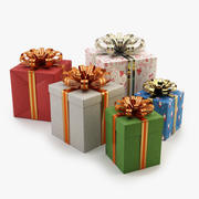 Gift Boxes for any holidays 3d model