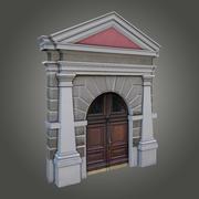 Ornate gate 3d model
