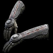 Fantasie-Handschuh 3d model