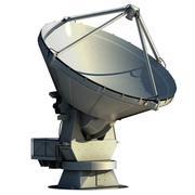 ALMA Radio Telescope 3d model