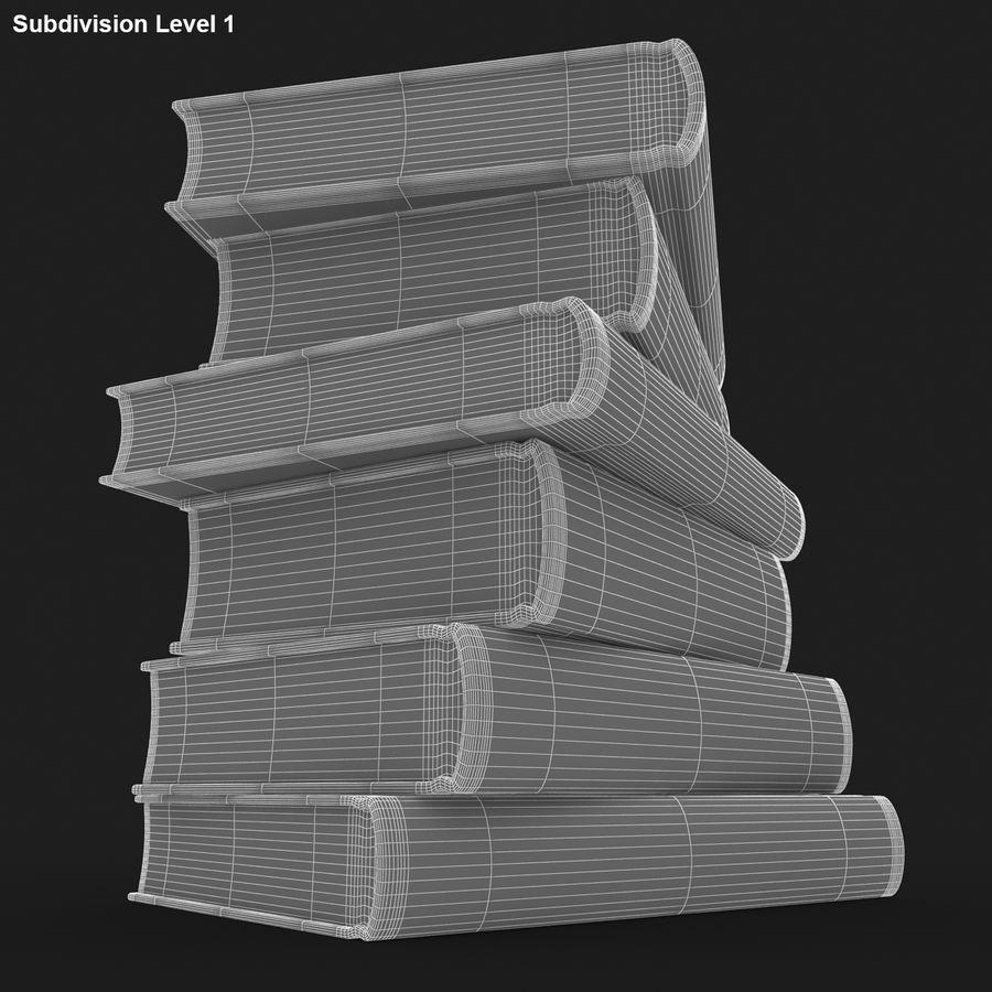 화려한 책 royalty-free 3d model - Preview no. 16