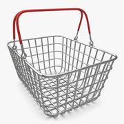 Alışveriş Sepeti (Krom) V1 3d model