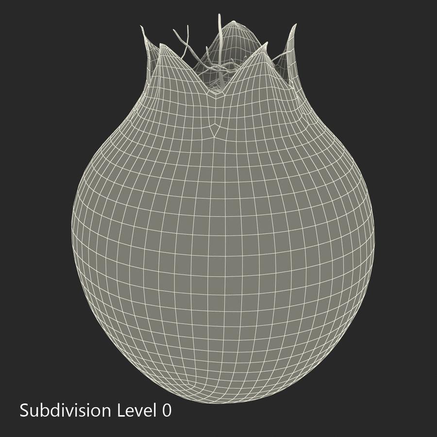 Shadbush Fruit royalty-free 3d model - Preview no. 11