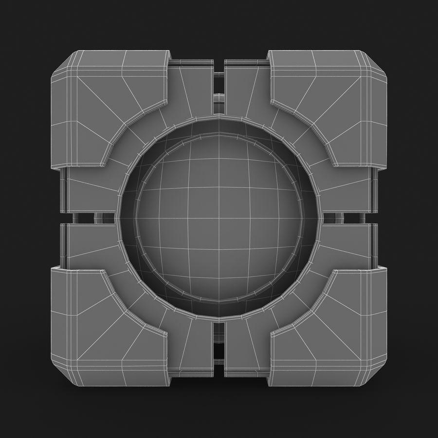 Portal-kubus royalty-free 3d model - Preview no. 9