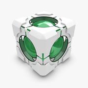 Cubo de portal modelo 3d