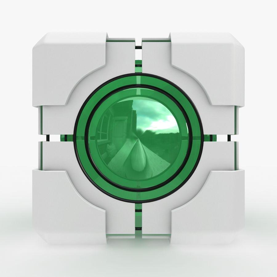 Portal-kubus royalty-free 3d model - Preview no. 8
