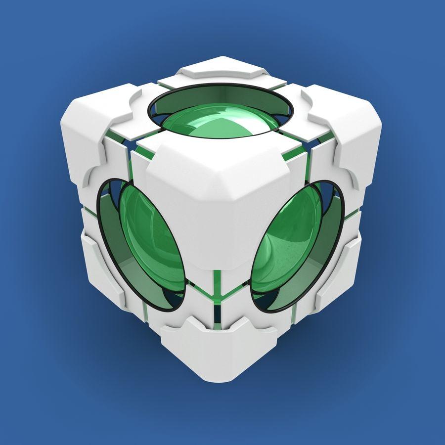 Portal-kubus royalty-free 3d model - Preview no. 3