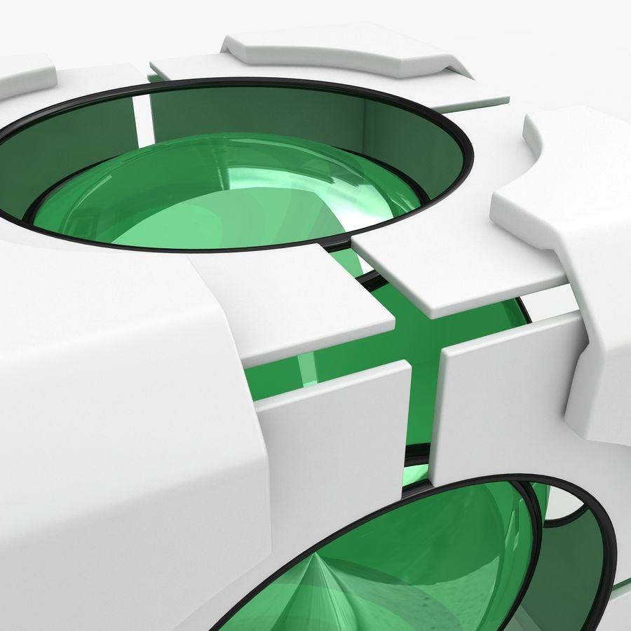 Portal-kubus royalty-free 3d model - Preview no. 7