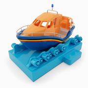 Kiddie Ride Long Life Boat 3d model