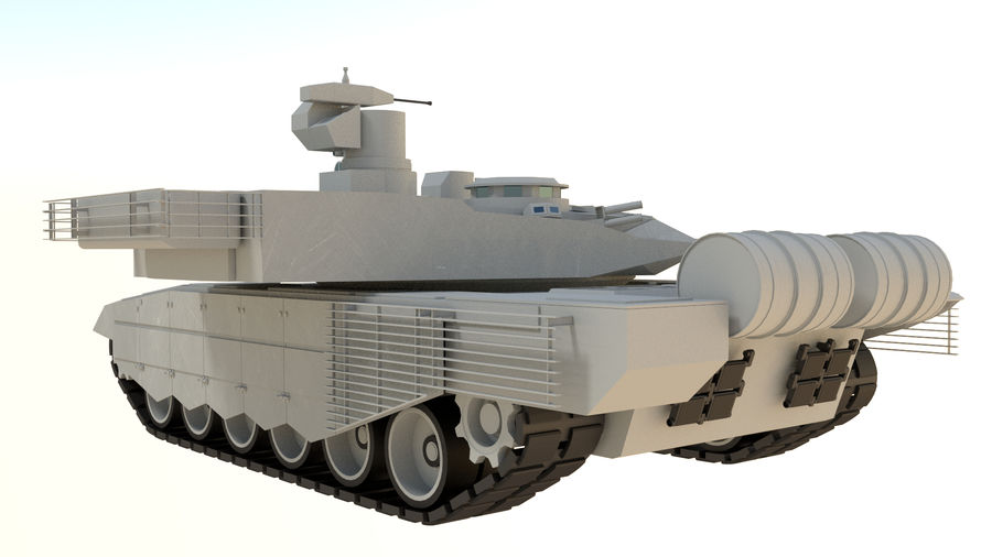 T90 MS royalty-free 3d model - Preview no. 5