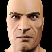 Głowa mężczyzny 3d model