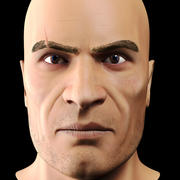 Erkek kafa 3d model