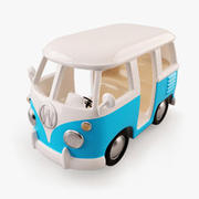 Kiddie Ride Camper Van 3d model