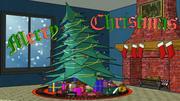 Christmas Scene 3d model