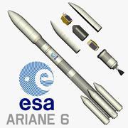 Ariane 6 3d model