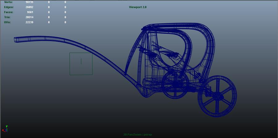 Ramsis War Car royalty-free 3d model - Preview no. 1