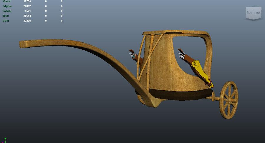 Ramsis War Car royalty-free 3d model - Preview no. 5