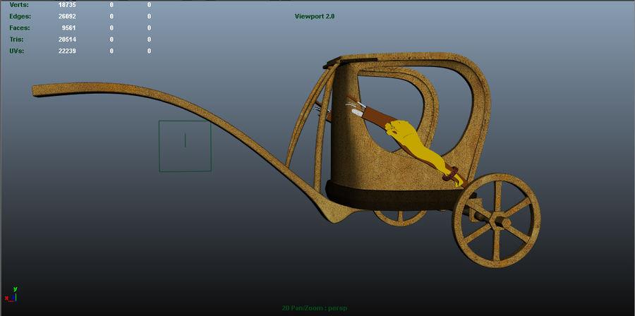 Ramsis War Car royalty-free 3d model - Preview no. 2