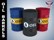 Нефтяные бочки 3d model