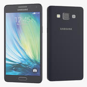 Samsung Galaxy A5 Blue Smartphone 3d model