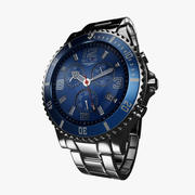 Watch Steel Sector Blue (British) 3d model