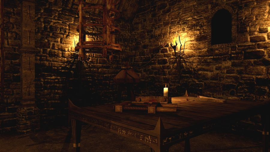 Torture Chamber royalty-free 3d model - Preview no. 6