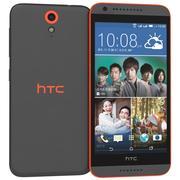 HTC Desire 620 Dual Sim Black 3d model