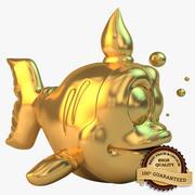 Peixe dourado 3d model