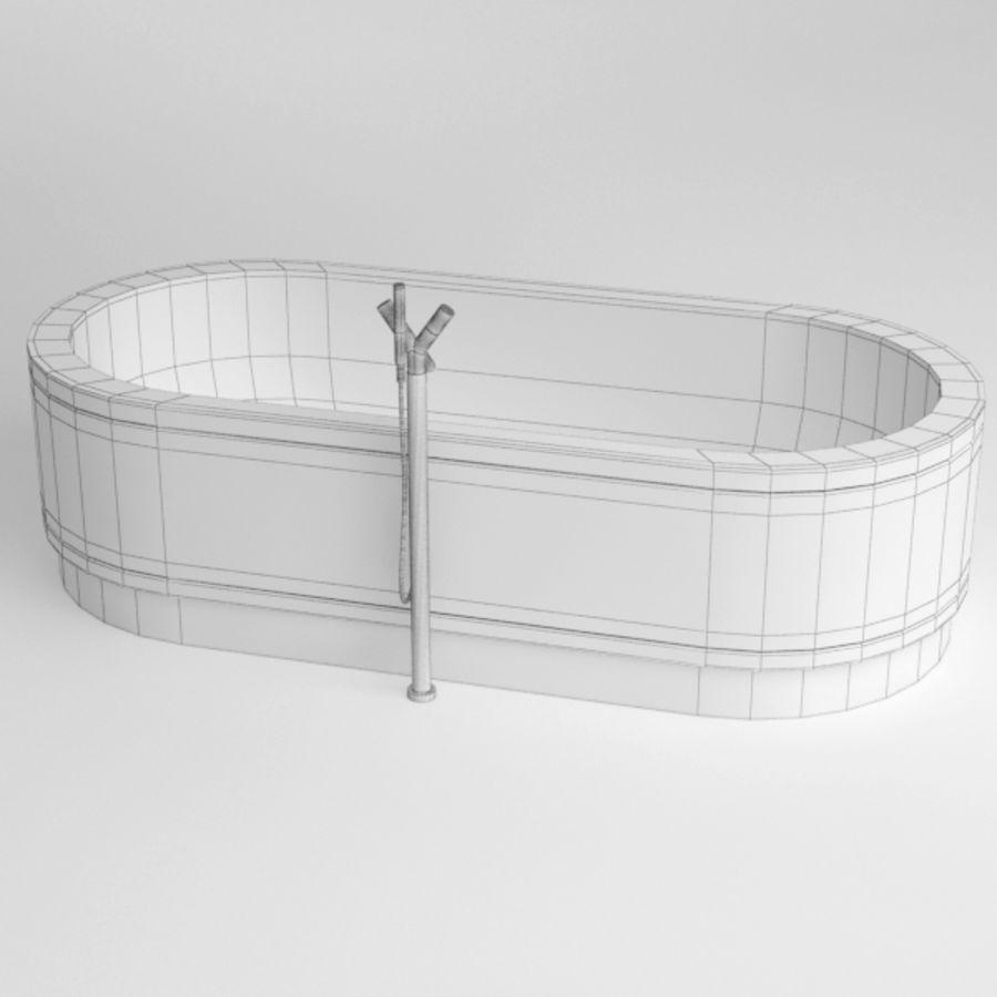 Une baignoire royalty-free 3d model - Preview no. 11